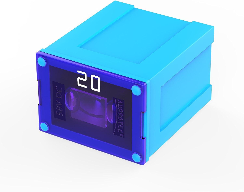 AUPROTEC PAL B Auto Link Fuses Slow Blow male OTO BT pacific fuse 1 pc 100 amp blue