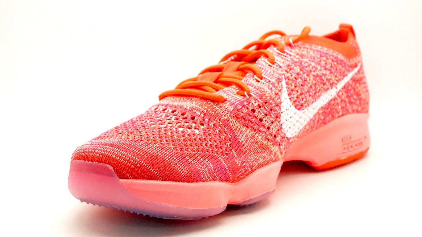 8ce332b3541f6 ... get nike wmns flyknit zoom agility zapatillas de tenis para zapatillas  brght de mujer rojo brght