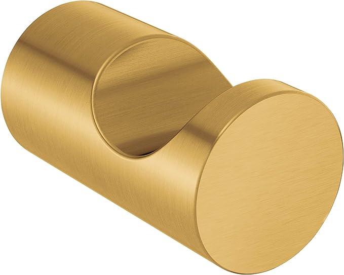 Moen YB0486BG Align 9-Inch Modern Hand Towel Bar Brushed Gold
