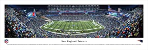 New England Patriots - 50 Yard Line at Gillette Stadium - Blakeway Panoramas NFL Posters