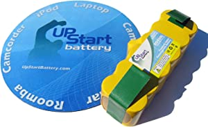 Upstart Battery Roomba 500 APS 80501 Extended Capacity Replacement Battery for iRobot Roomba Vacuum Cleaning Robot 3.5AH