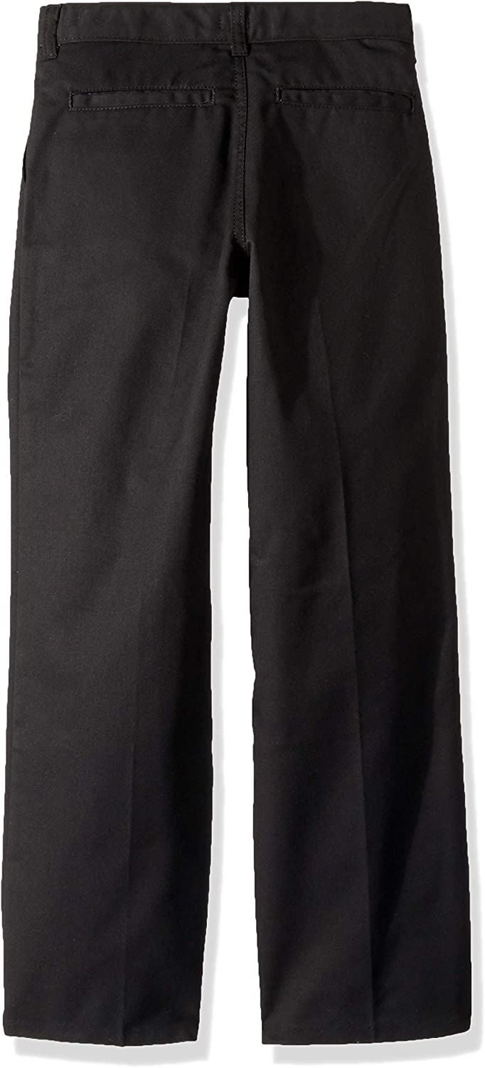 Dickies Kids Boys Big Flexwaist Flat Front Straight Leg Pant 20 Black