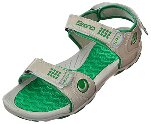 ee33a56f9b4 Brano Men s Rexine Outdoor Sandals  Buy Online at Low Prices in ...