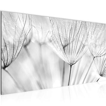 Bilder Blumen Pusteblume Wandbild Vlies - Leinwand Bild XXL Format ...