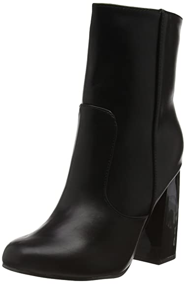 7b90543d77 Boohoo Women's Block Heel Ankle Boots: Amazon.co.uk: Shoes & Bags