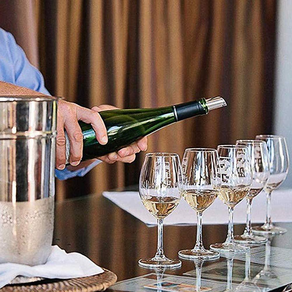 Disco versatore per Vino BETOY Set di 25 Pezzi versatore di Vino Bottiglia di Vino versatore Bottiglia gocciolare Fermare beccucci Riutilizzabile