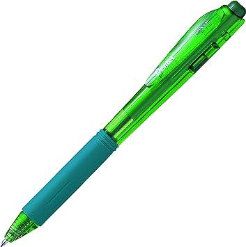 Pentel WOW Retractable Ball Pen Green BK440