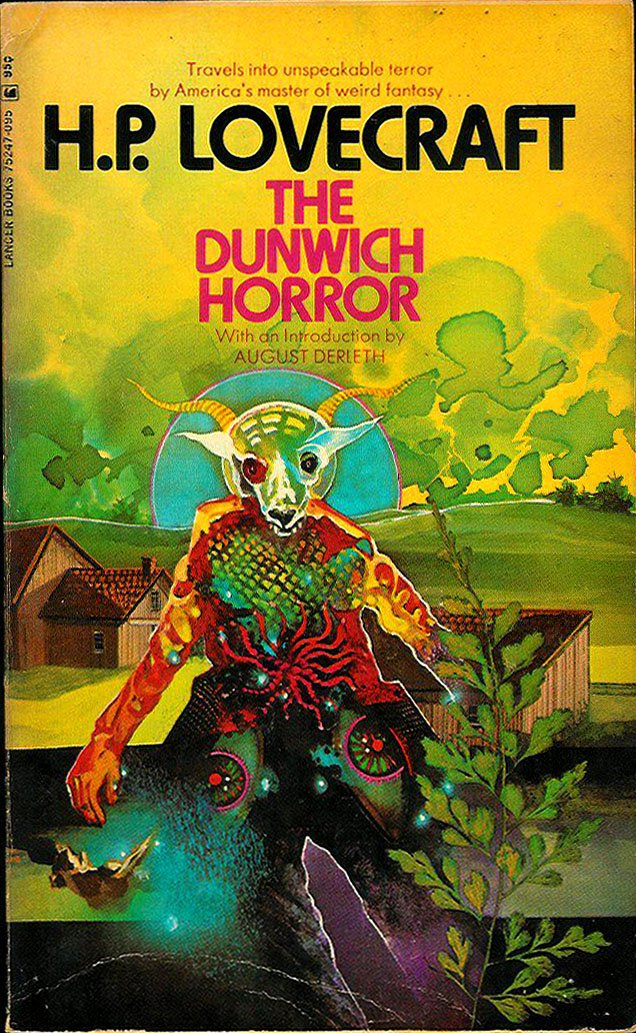 The Dunwich Horror and Others (Lancer #447-75427-095): H. P. ...