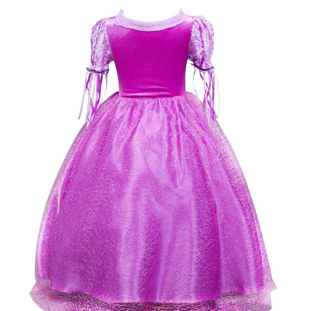 Amazon.com: Disfraz de princesa de Sofía para niña ...