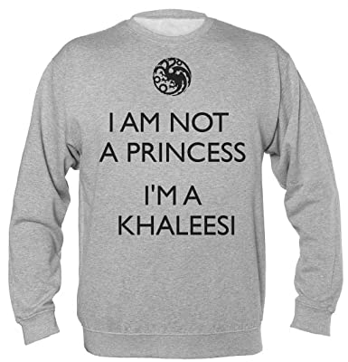 Finest Prints Im Not A Princess Im Khaleesi Sudadera Unisex ...
