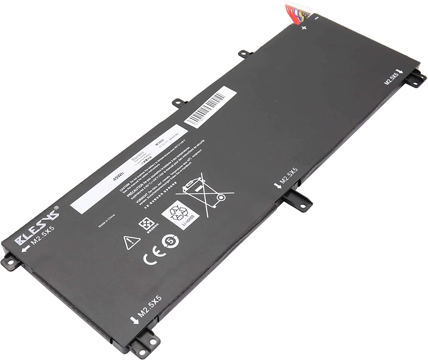 Computers & Accessories Accessories ASKC 9Cell 91Wh 245RR Laptop ...
