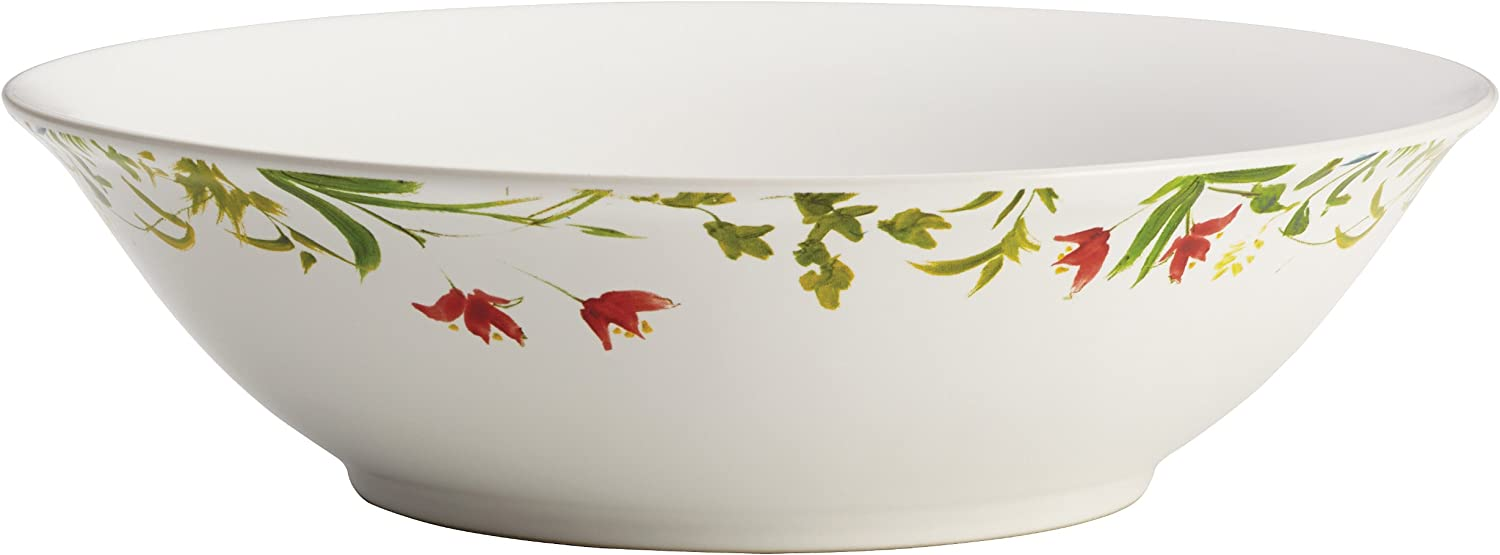 Bonjour Dinnerware Meadow Rooster Serving Bowl, 10