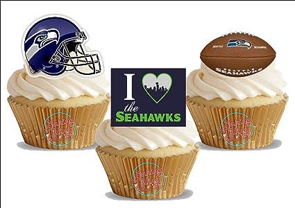 Amazon American Football Seattle Seahawks Trio Mix Fun Novelty