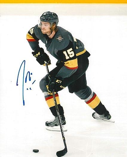 2fc563efe Autographed Jon Merrill Photograph - 8X10 COA E - Autographed NHL ...