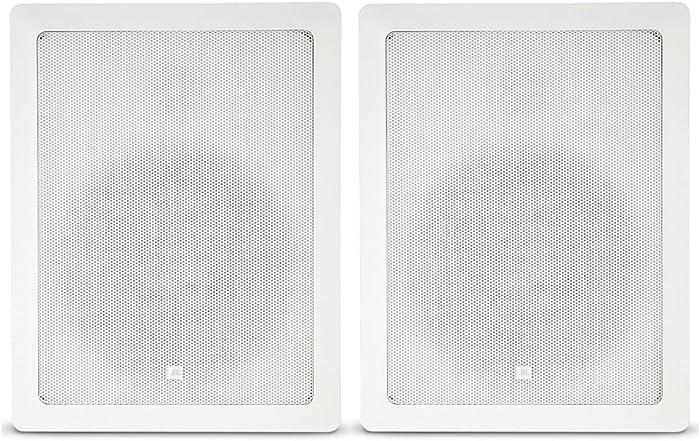 JBL Professional Control 128WT Premium In-Wall Loudspeaker, with Transformer Taps, Sold as Pair