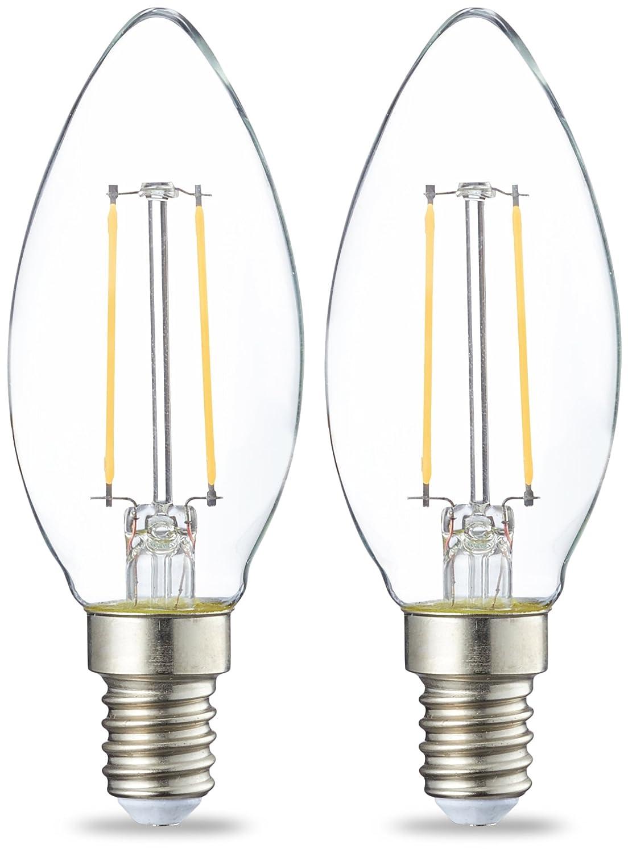 Osram LED Bulb Globe Small Edison Screw E14 4W Pack of 3