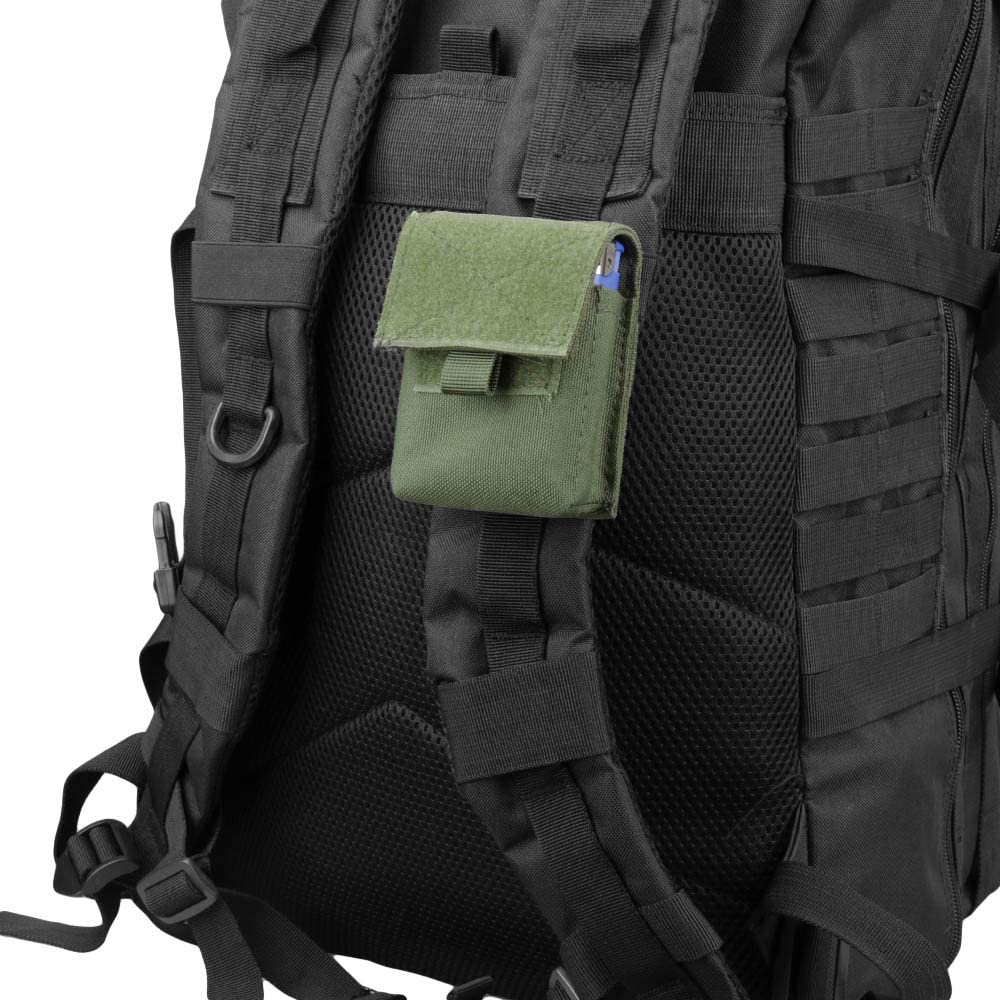 AMYIPO Multi-Purpose Compact Waist Bags Small Utility Pouch Military Molle Pouch Tactical Sundries Storage Bag