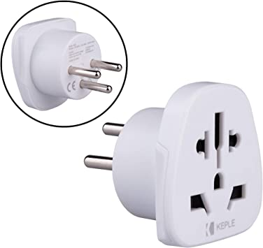 Israel Adapter Plug Viaje Tipo H to a UK, US USA American, AUS AU Australia, EU Europe European, China, Japan, Tailandia, Swiss, Spain Adaptador Universal Adaptor Enchufe Internacional 3 Pin: Amazon.es: Electrónica