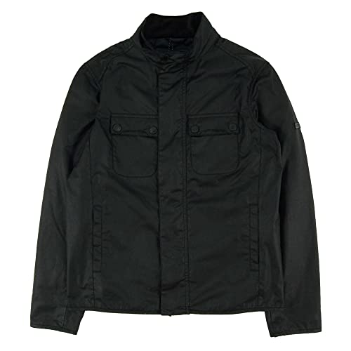 Cazadora BARBOUR INTL Lock Wax Jacket M Negro: Amazon.es ...