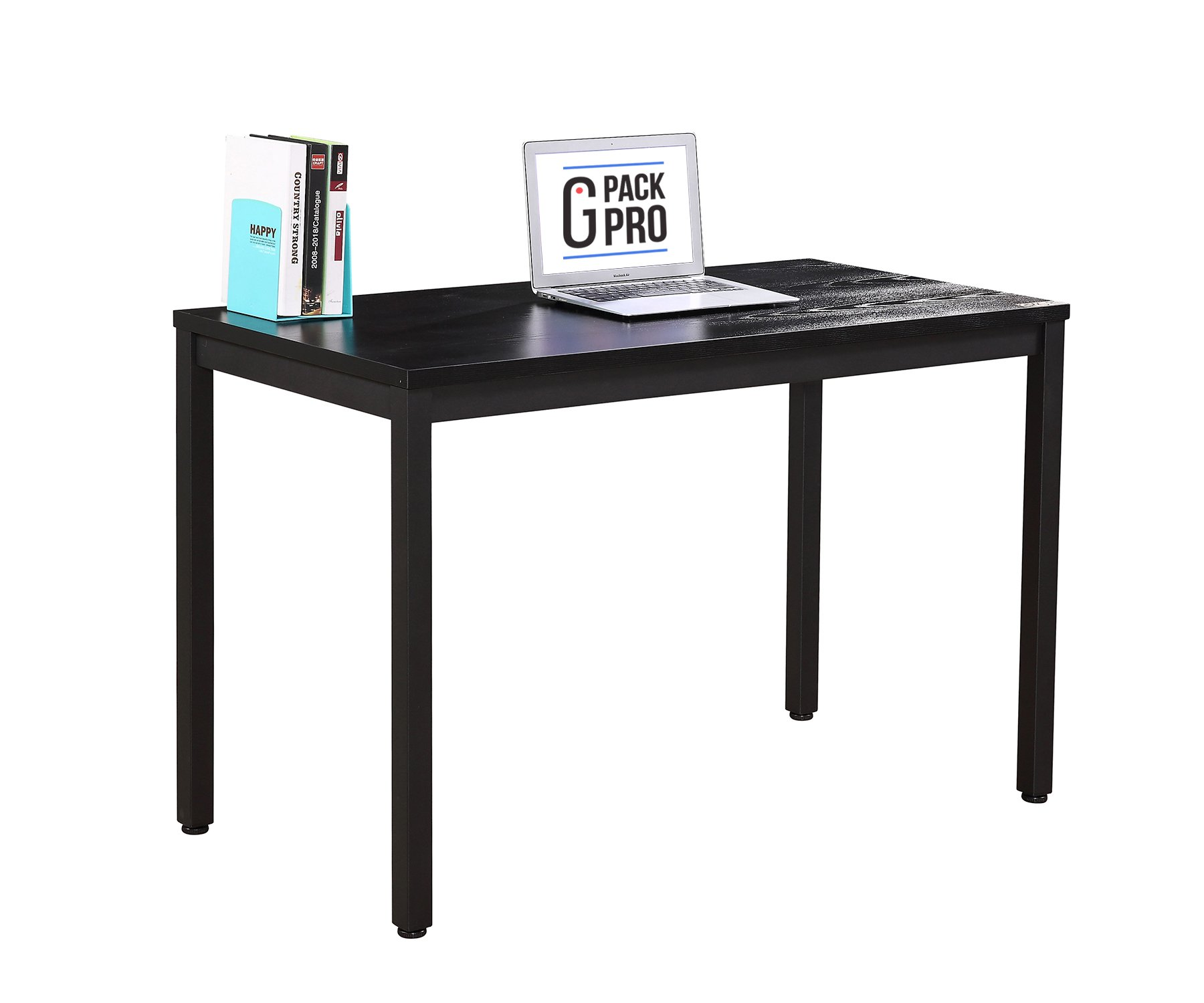 G-PACK PRO Computer Desk 47'' Computer Table/Office Desk Workstation for Home & Office Use,Black (GPPTBL)