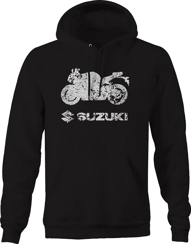 OS Gear Distressed Suzuki Street Bike Gsxr Sweatshirt