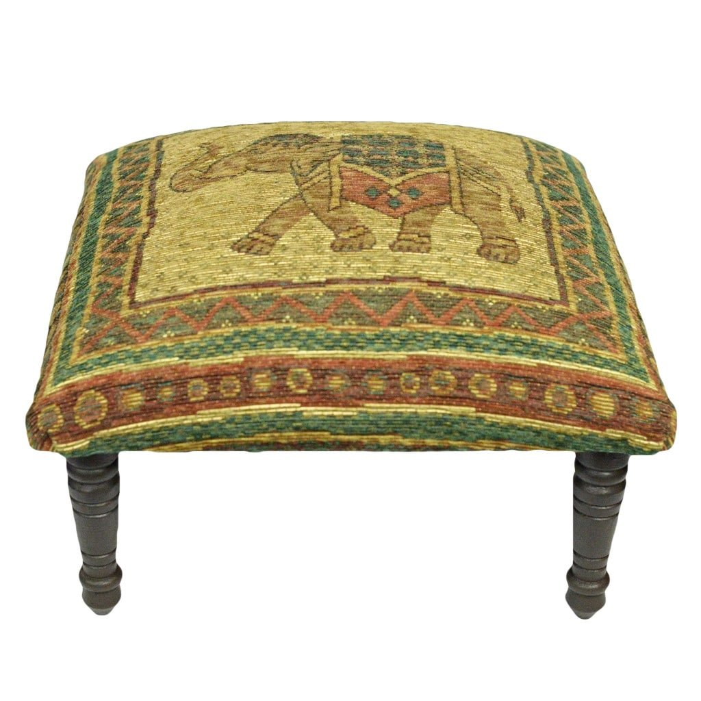 Corona Décor OSF602 Footstool, Green