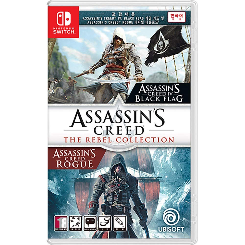 Amazon Com Assassin S Creed The Rebel Collection Korean Edition