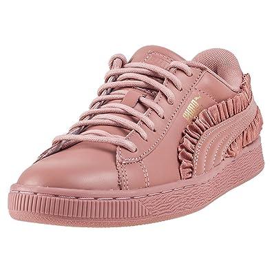 Puma Basket Classic Frill Damen Sneaker Pink