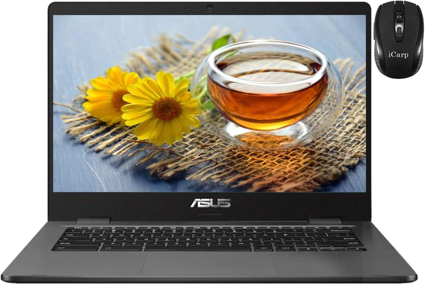 2020 Flagship ASUS Chromebook C423 Laptop 14