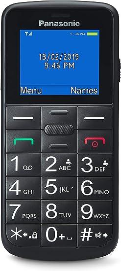 Panasonic KX-TU110EXB- Teléfono Móvil Para Personas Mayores ...