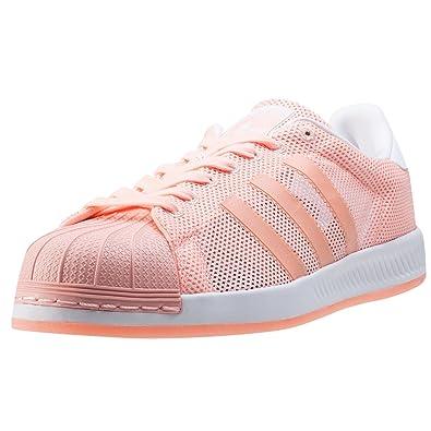 Adidas Superstar Bounce Femmes Baskets Coral 7 UK Red