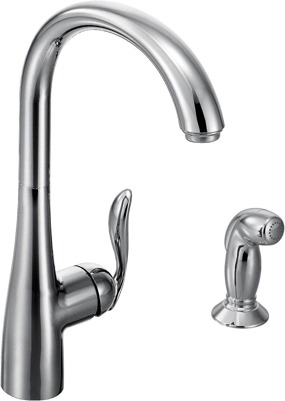 Moen 7790 Arbor One-Handle High Arc Kitchen Faucet, Chrome