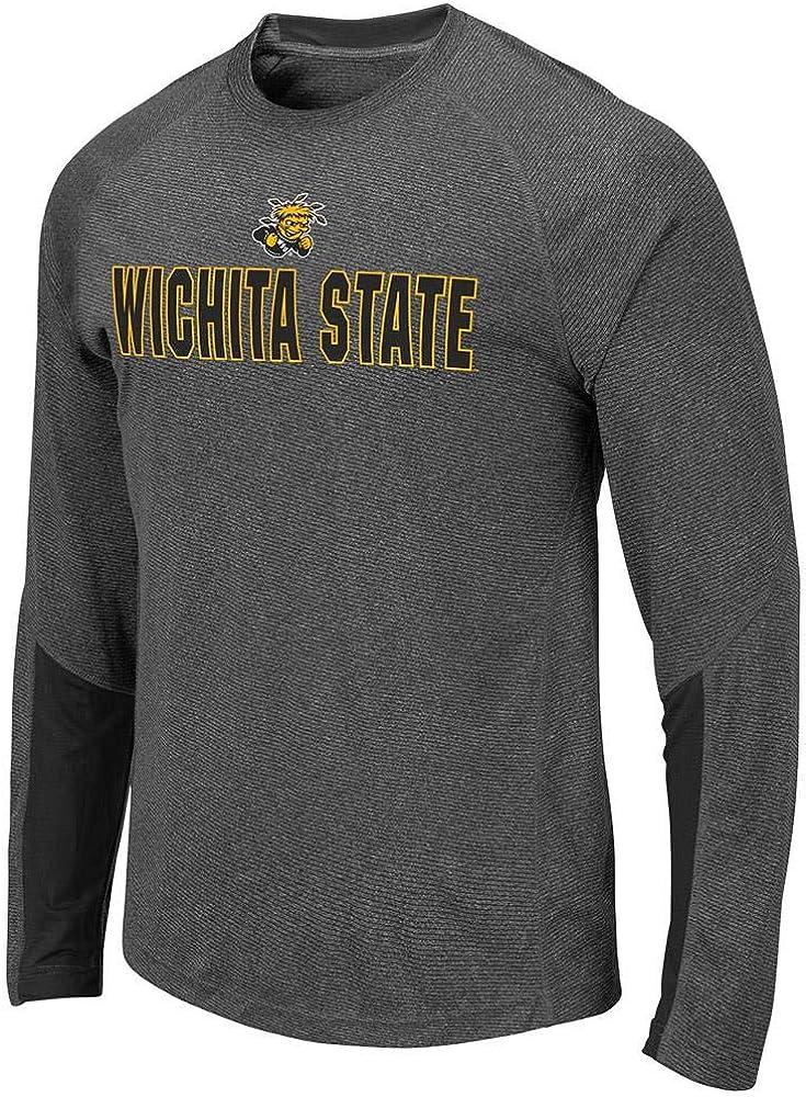 Colosseum Mens Wichita State Shockers Brisbane Long Sleeve Tee Shirt