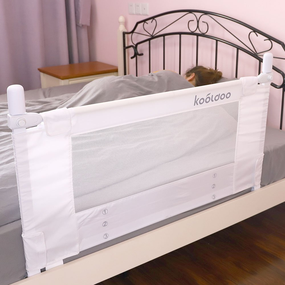 Amazon.com: KOOLDOO - Barrera de seguridad para cama ...