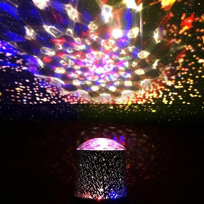 digoo dg-snl Incredible noche luz niños lámpara Sky Star Cosmos ...