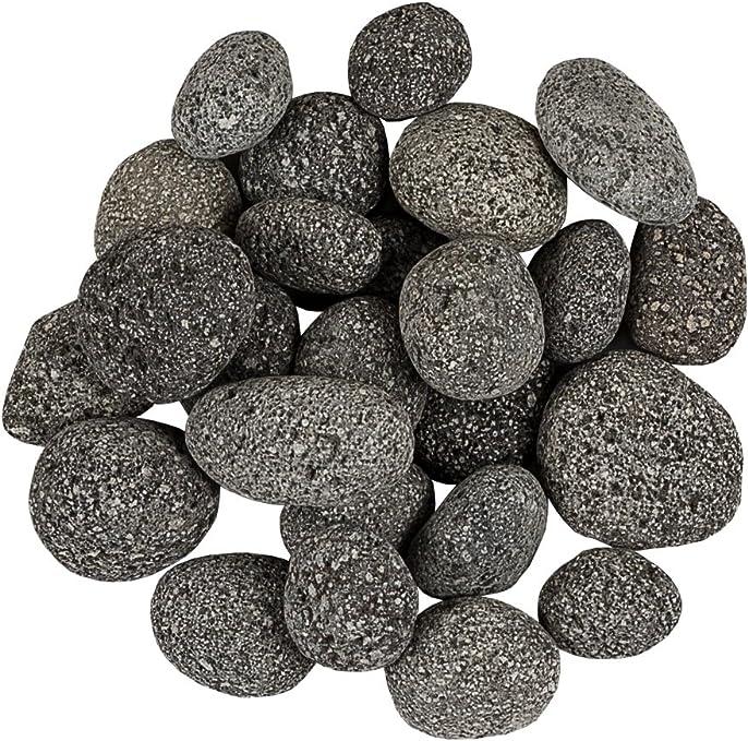 Pflanzwerk® Macetero Piedras Decorativas Grava Decorativa Magma Lava Rocks Antracita 5KG *Resistente a Las heladas* *Protección UV * *Productos de Calidad*: Amazon.es: Jardín