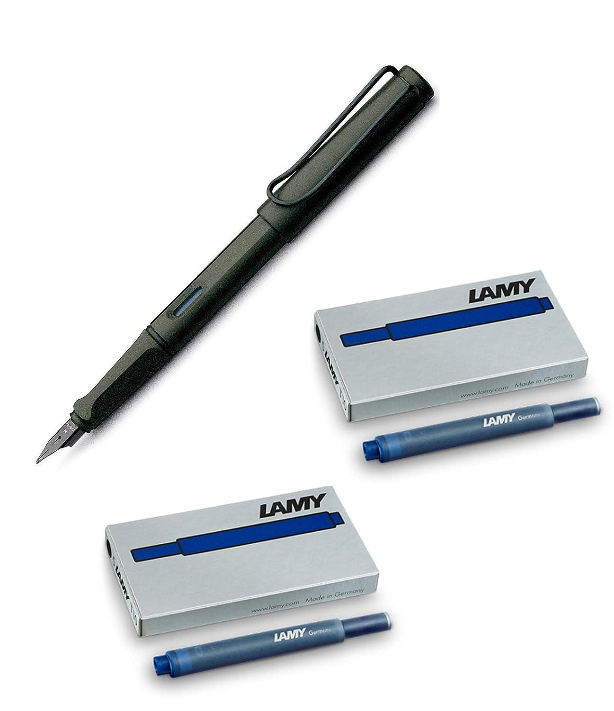 Füller LAMY safari Umbra Füllhalter 1203065 Kunststoff UMBRA M 1203065 FH safari 2 017 M Notebooks//Pads//Misc Paper School Supplies Schreibwaren