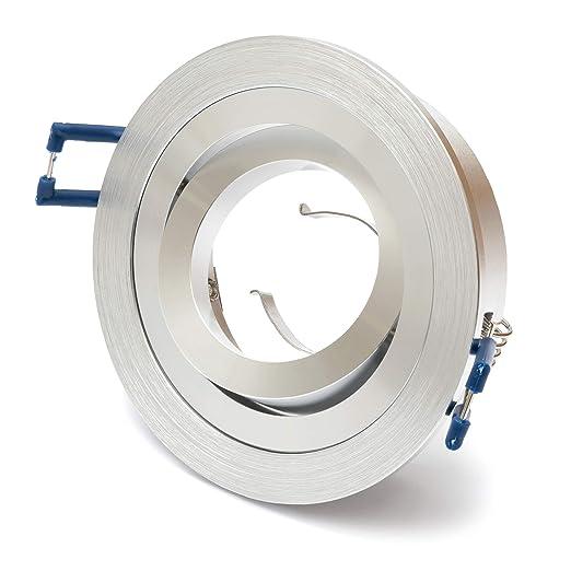 25er Pack inkl Einbaurahmen für Einbaustrahler Halogen LED GU10 Fassung