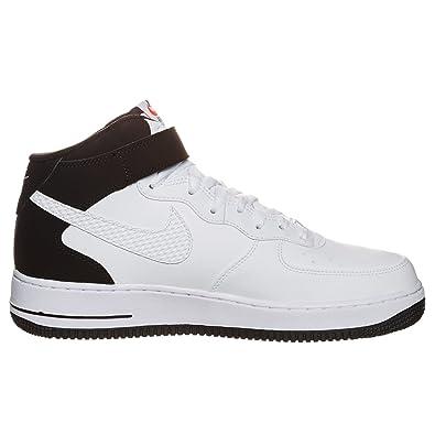 nike shox mc remise en forme - Nike Air Force 1 Mid Junior Blanche Et Noire Blanc 37?: Amazon.fr ...