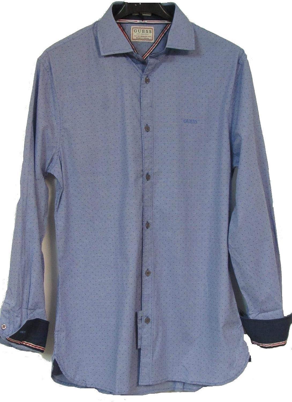 Guess Camisa Hombre Slim fit (M): Amazon.es: Ropa y accesorios