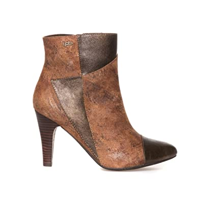LPB Shoes adele bronze - Chaussures Bottine Femme