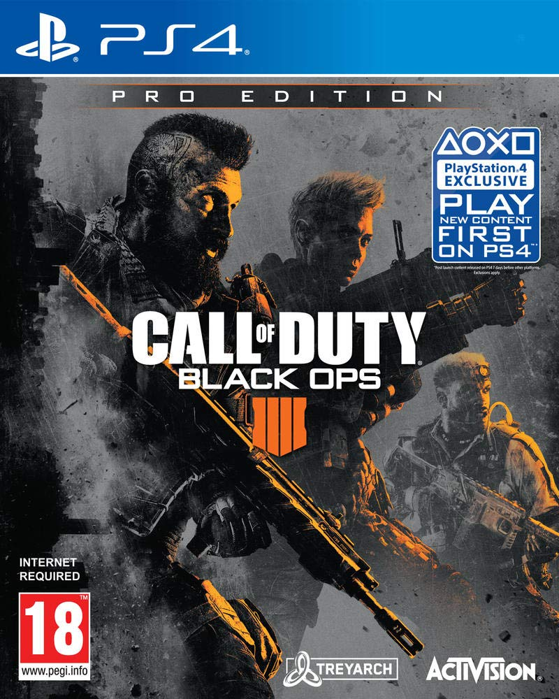 Call Of Duty Black Ops 4 Pro Edition Ps4 Video Games