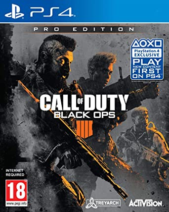 Amazon Com Call Of Duty Black Ops 4 Pro Edition Ps4 Video Games