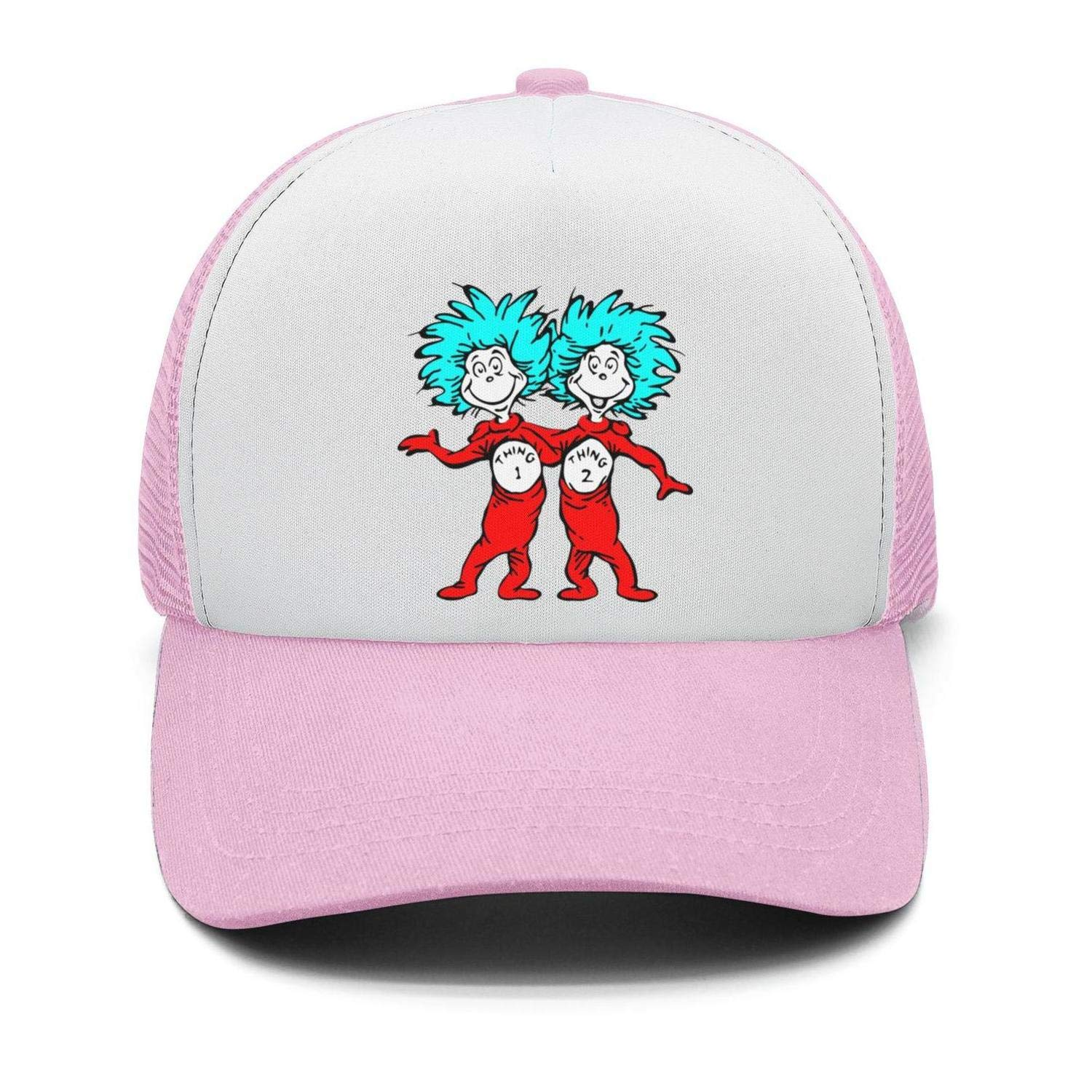 Mens Street Dancing Strapback Hat Dr.Seuss-The-cat-in-The-hat Adjustable Dad Cap
