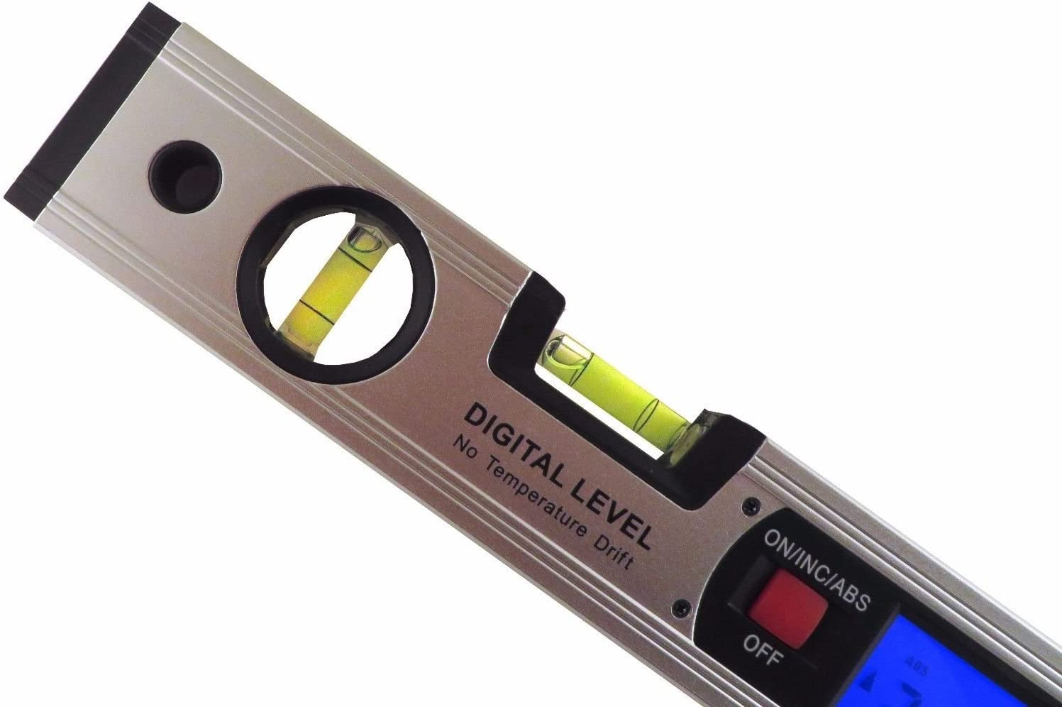 "16/"" Digital Level Protractor Inclinometer without Magnetic Base Backlit GRLNM"