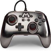 Control alámbrico para Nintendo Switch - Mario Silver - Standard Edition