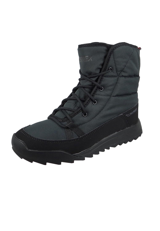 adidas Damen Terrex Choleah Padded CP Trekking-Wanderstiefel, Schwarz  36 EU|Verschiedene Farben (Negbas/Negbas/Gricin)