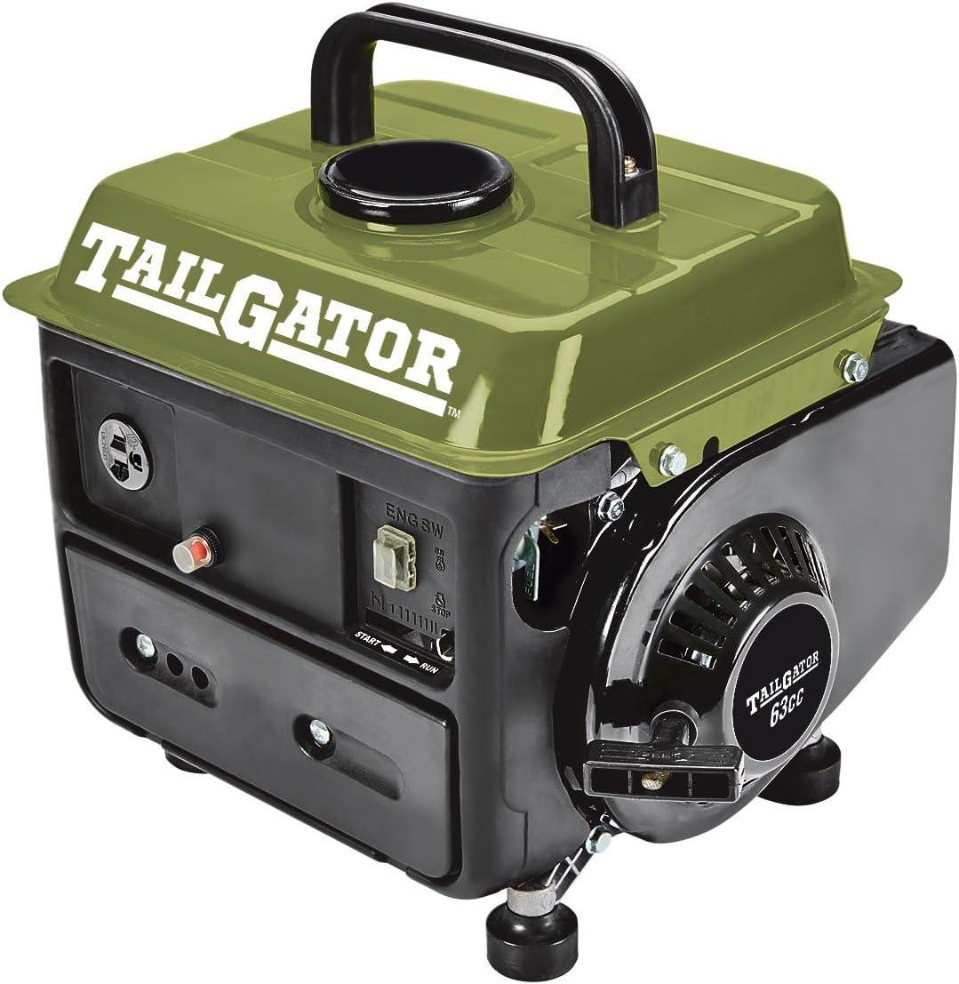Tailgator 63025 630253 2 Cycle Gas EPA CARB Portable Generator