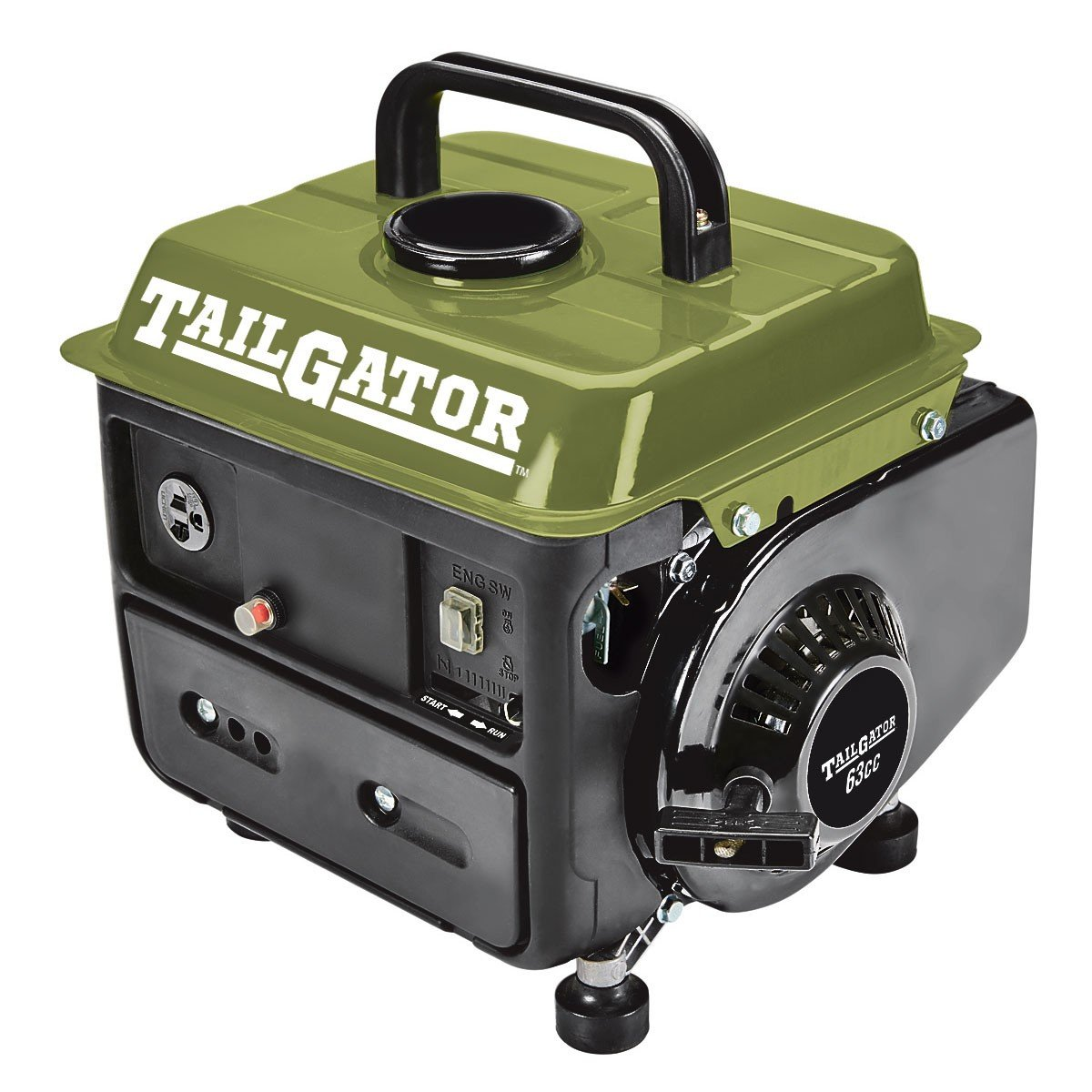 Tailgator 63025 630253 2 Cycle Gas EPA CARB Portable Generator