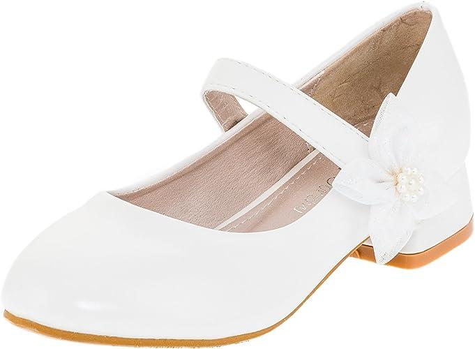 Doremi Girls' Court Shoes White Size
